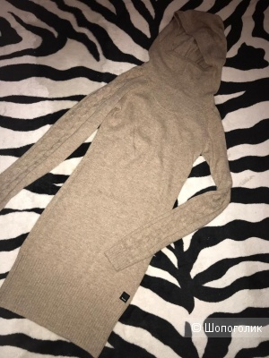 Шерстяной свитер-платье Bench S xs