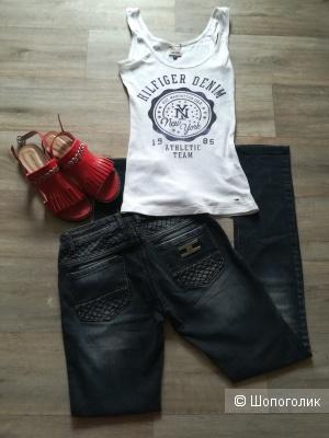 Лот джинсы EF+ майка Tommy Hilfiger, размер 42-44