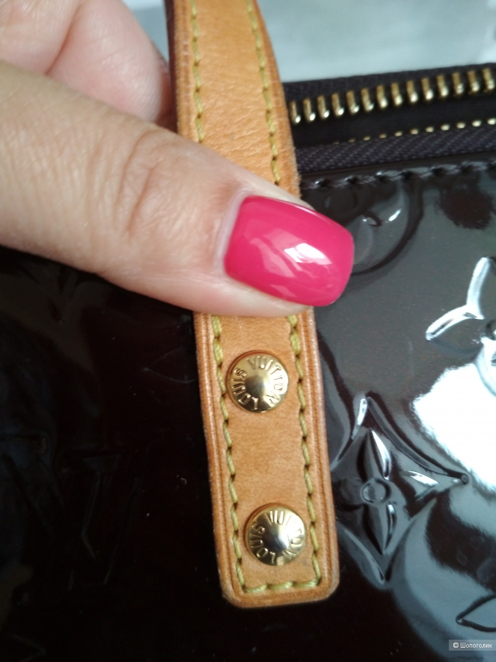 Сумка Louis Vuitton Monogram Vernis .