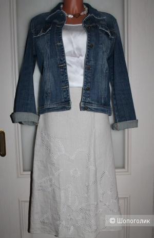 Льняная юбка ESTIMATE, размер 48-52