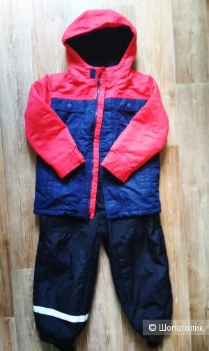 Комплект куртка gymboree полукомбинезон hm размер 5-6 лет