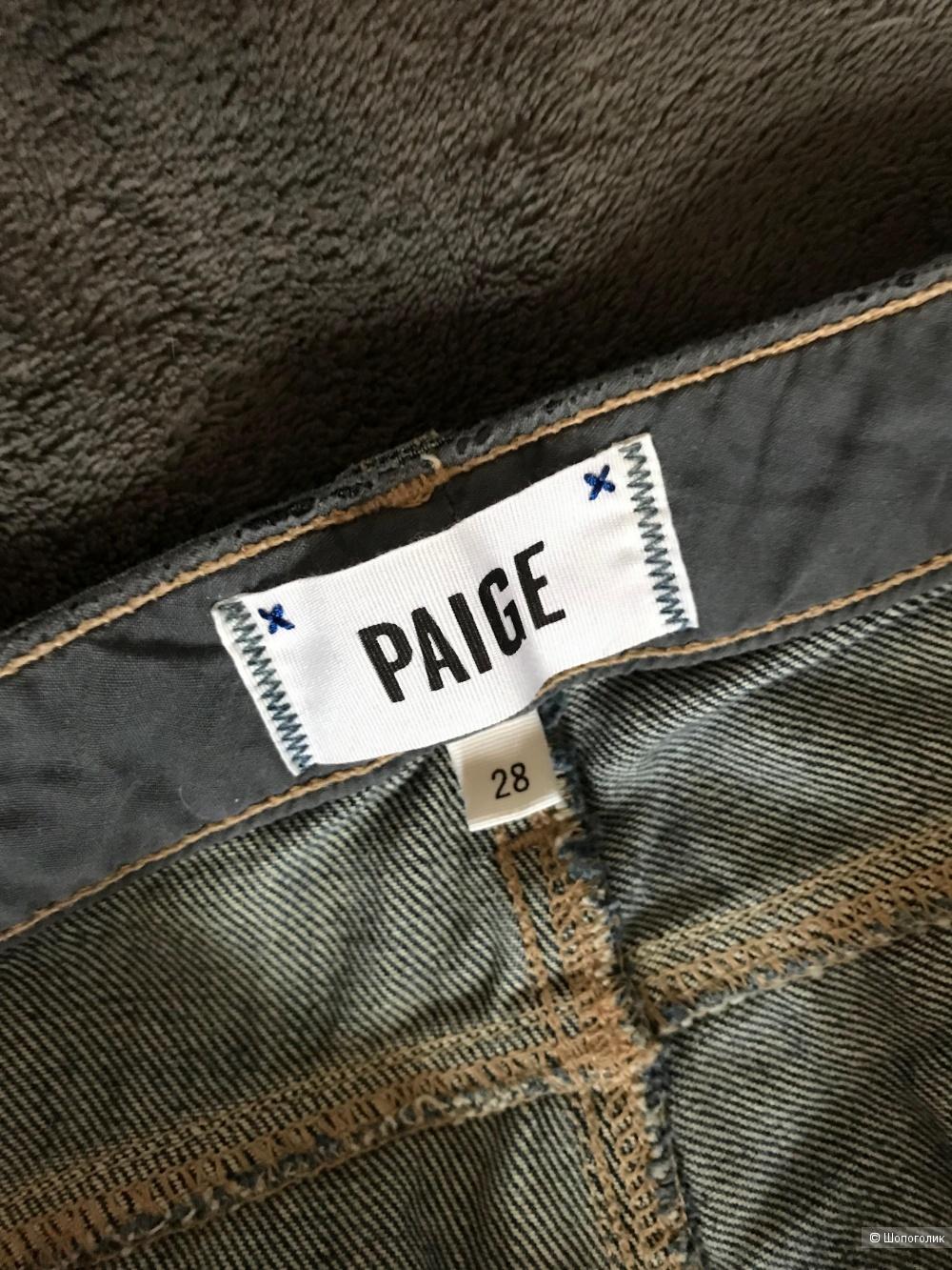 Джинсы Paige размер 28.