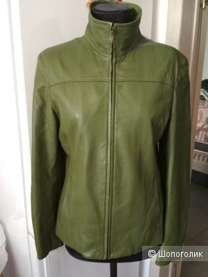 Куртка кожаная Biba + Pariscop, р. 48