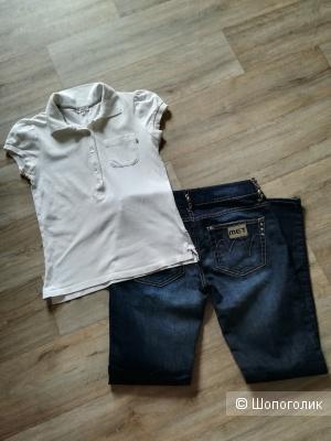 Сет джинсы Met 28+ футболка Massimo dutti, s/m