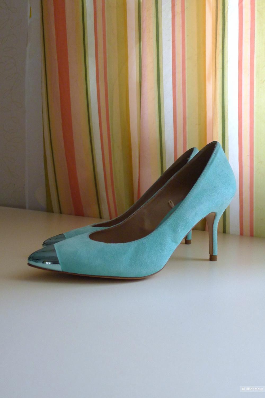 Туфли лодочки ZARA WOMEN размер 38 на 37