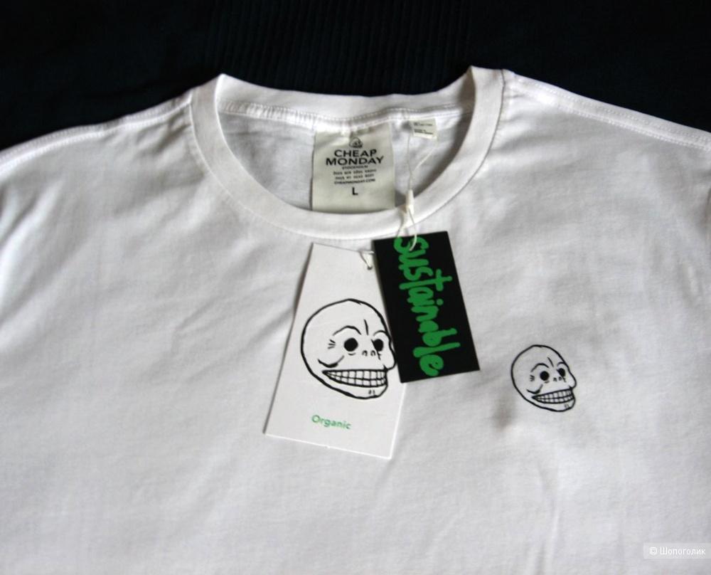 Мужская футболка Cheap Monday, размер L
