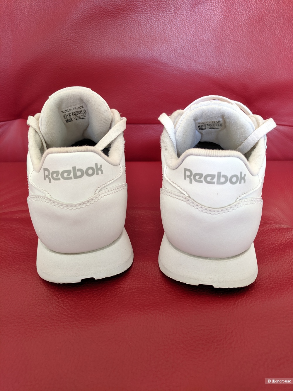 Кроссовки  Reebok Classic Leather,  р 39