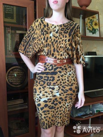 Трикотажное платье от GLANCE , размер 164-88-96 (44).