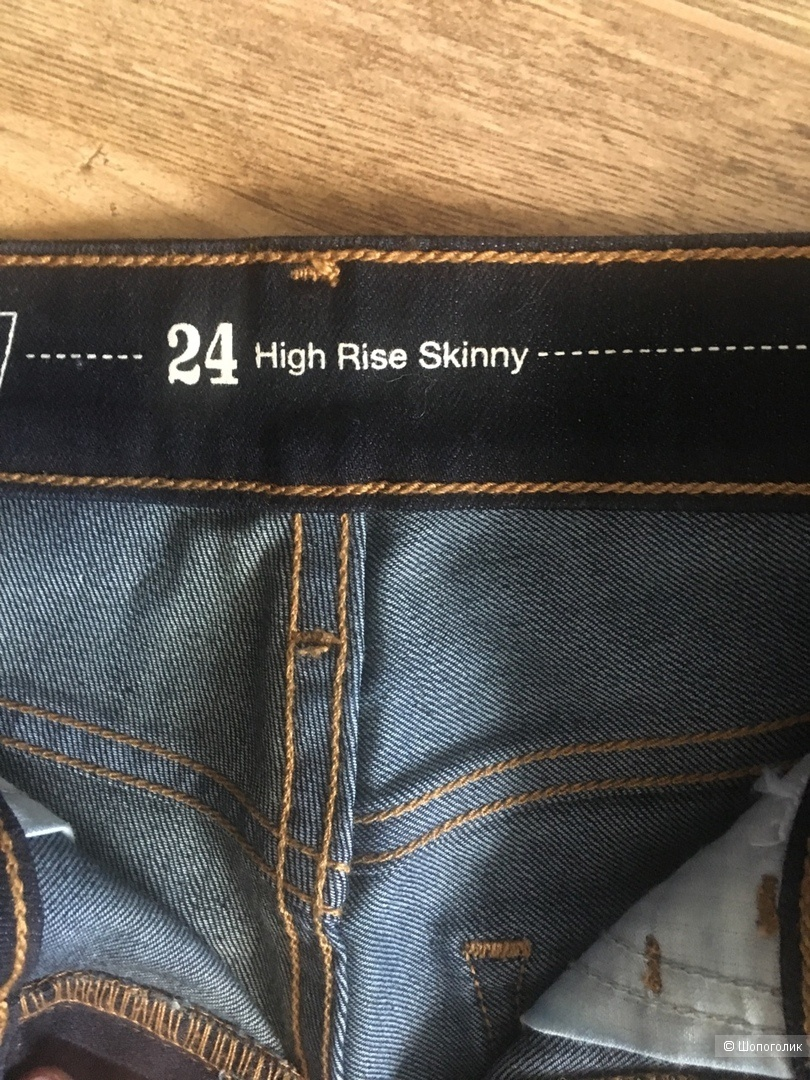 Джинсы LEVIS, высокая талия, размер 24