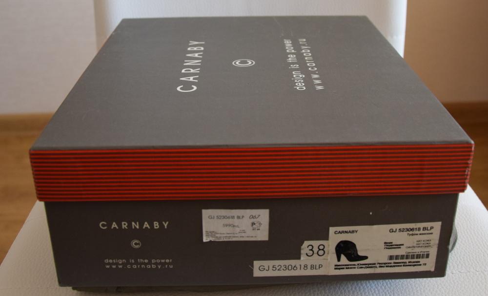 Ботильоны CARNABY р.37,5 (по стельке 24,3 см) можно и на 37