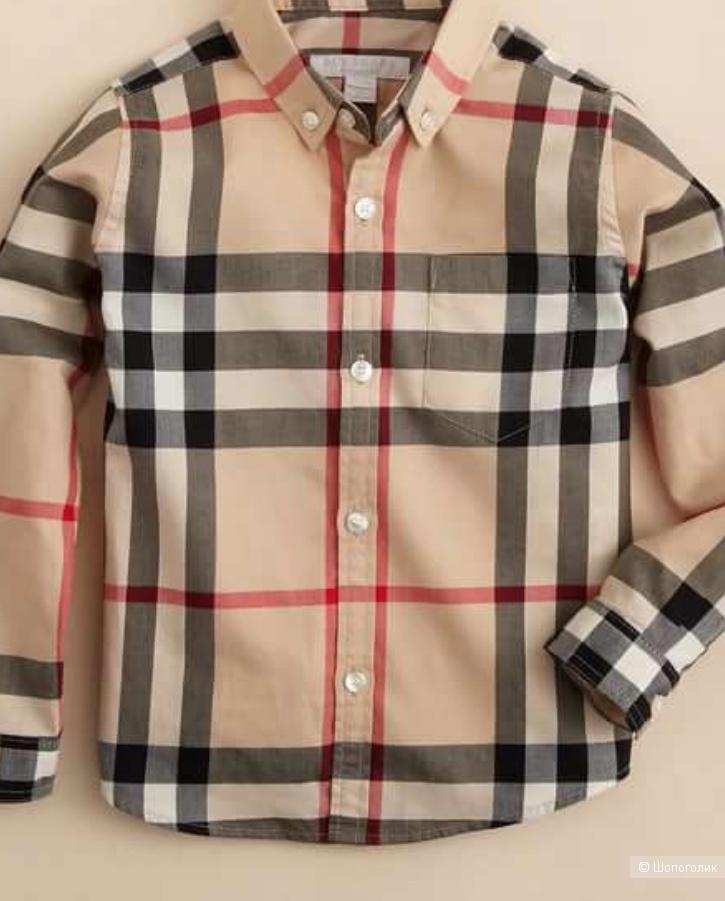Рубашка Burberry 140 см ( 10 лет)