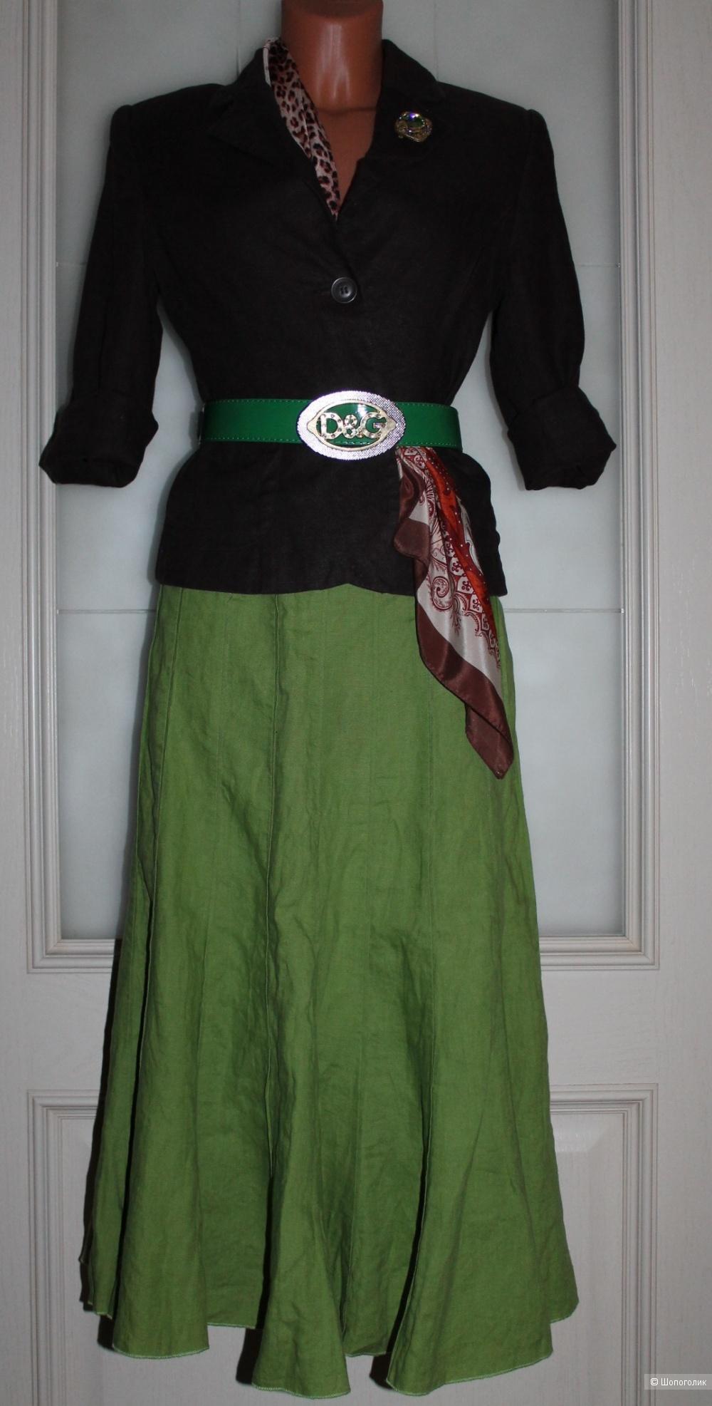 Льняная юбка  Per una, размер 14