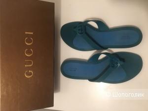 Сланцы Gucci, размер 37