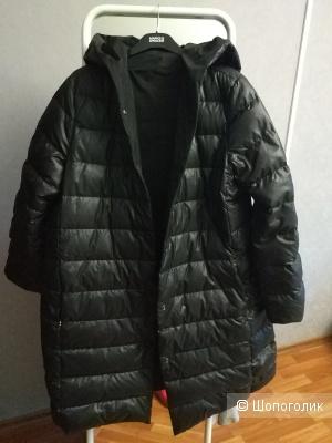 Пуховик женский зимний Orsa couture 52-54 размер