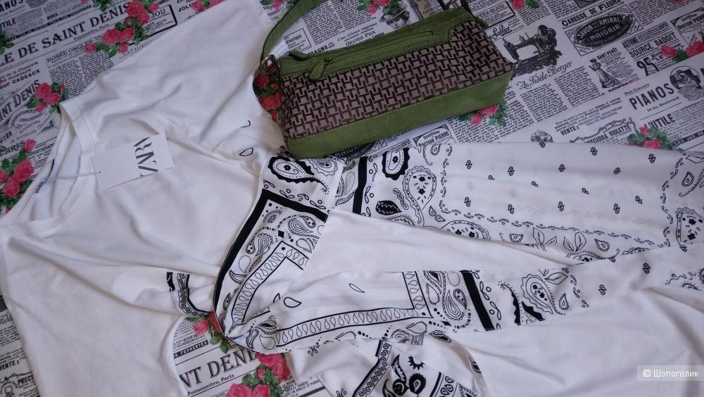 Сет- Платье Zara и сумочка Tommy Hilfiger, размер S-M
