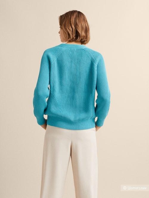 Хлопковый свитер Massimo Dutti S-M