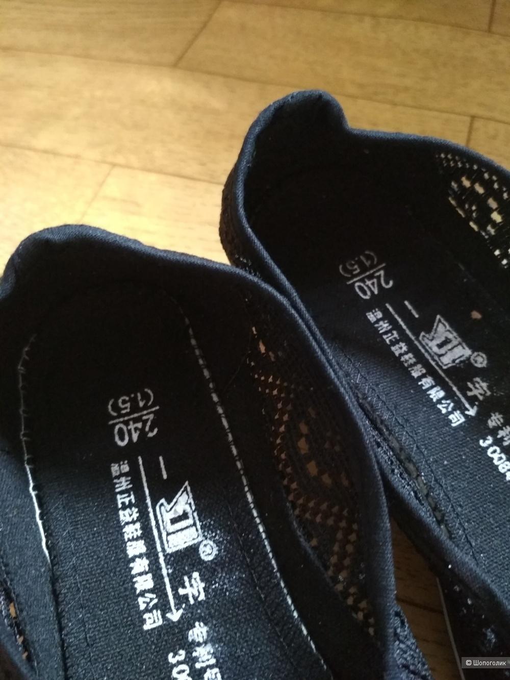 Летние туфли, 38 р-р