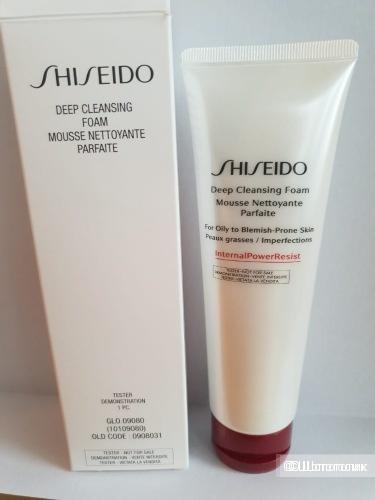 Shiseido Defend Preparation Deep Cleansing Очищающая пенка для лица 125 мл.