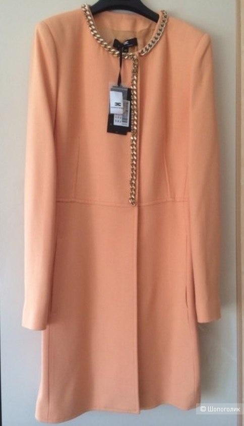 Легкое пальто ELISABETTA FRANCHI, размер 42 ит