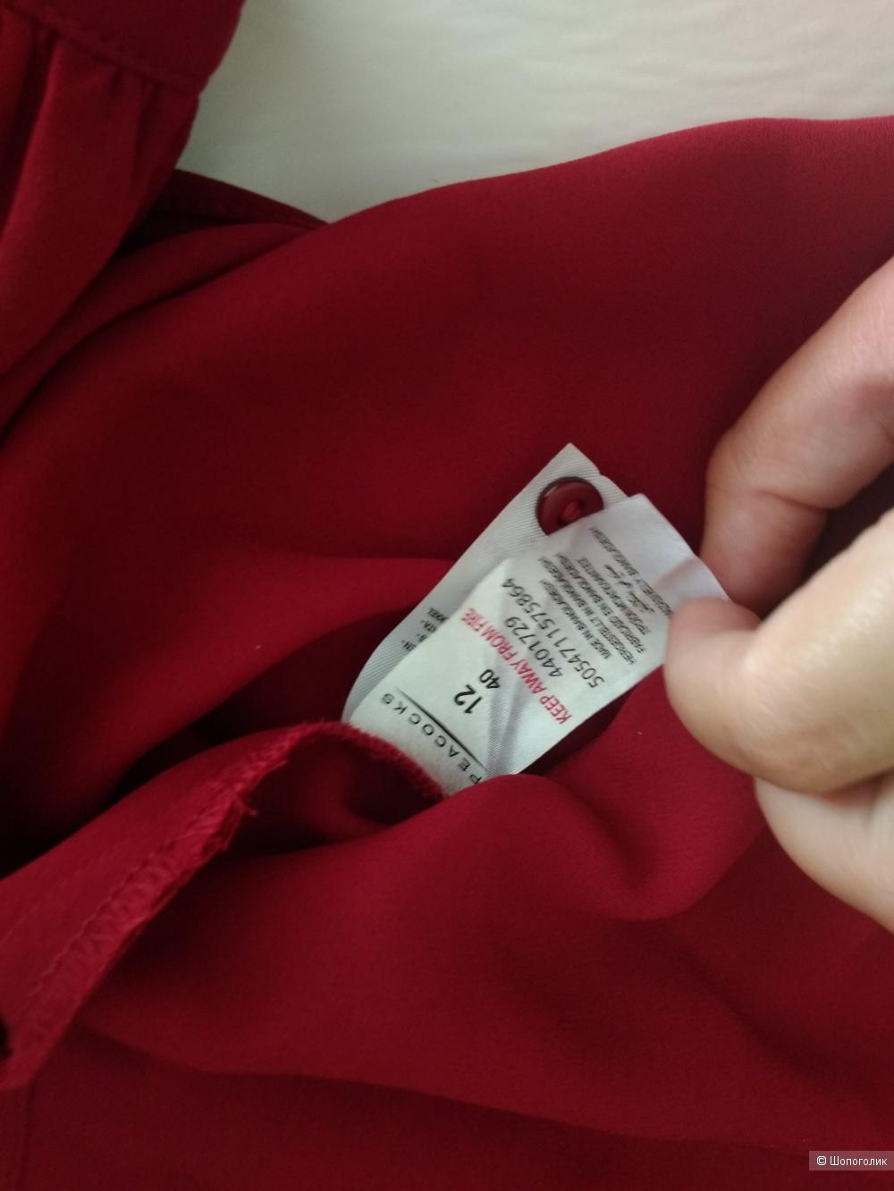 Красная блузка Peacocks 46-48
