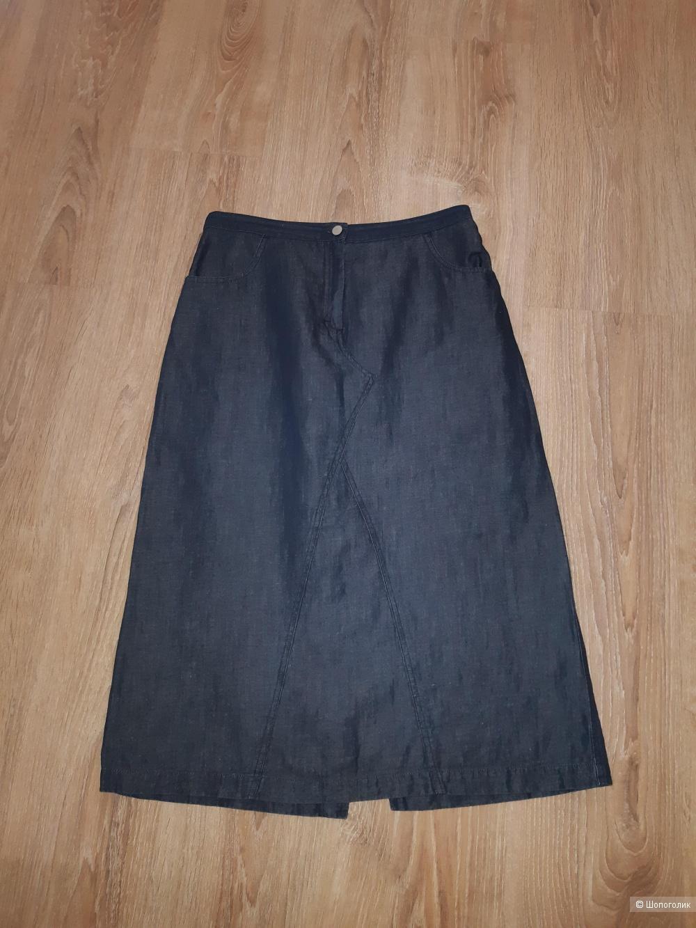 Юбка джинсовая trussardi jeans, размер 46
