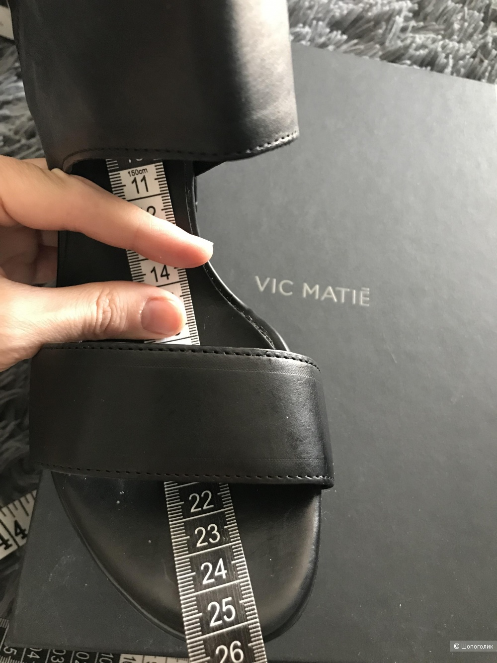 Босоножки VIC MATIĒ 38.5 eur