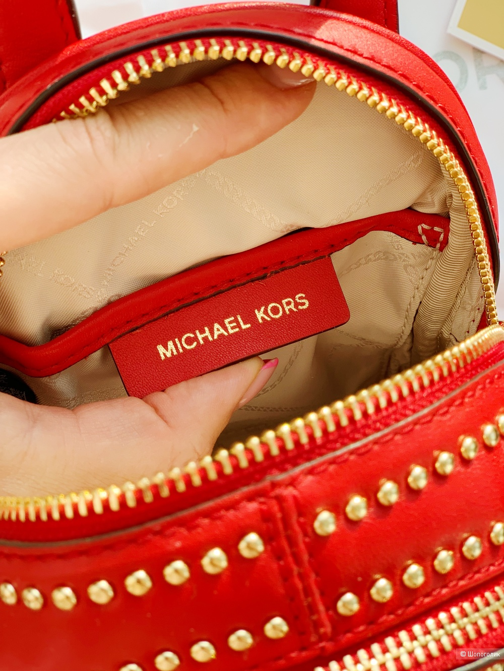 Michael kors mini рюкзак