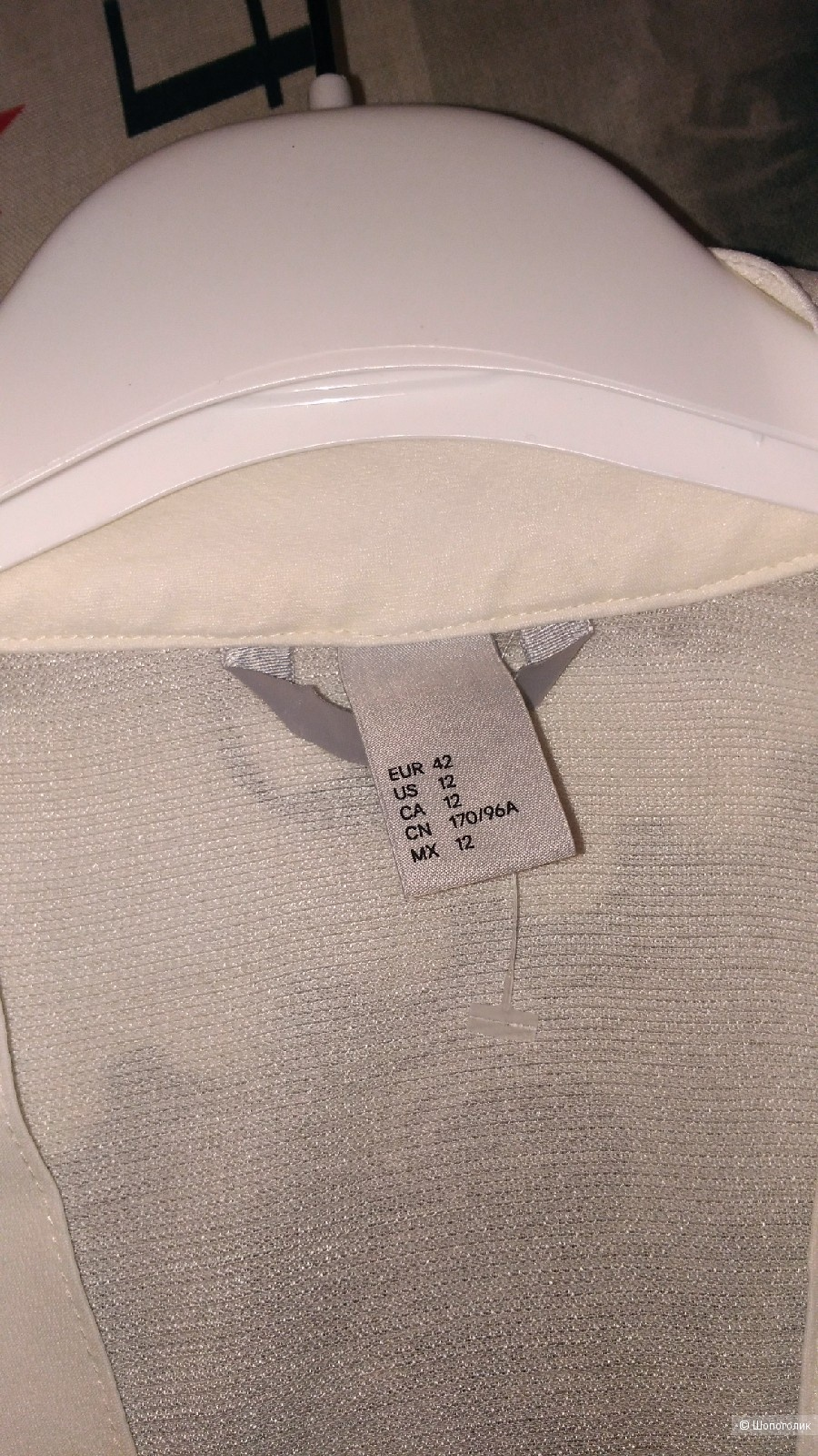 Блузка туника H & M р.48