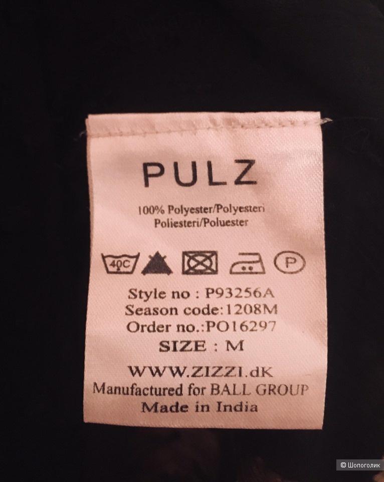 Комплект - пляжное платье-рубашка Pulz и шорты K.Woman, размер М, 46
