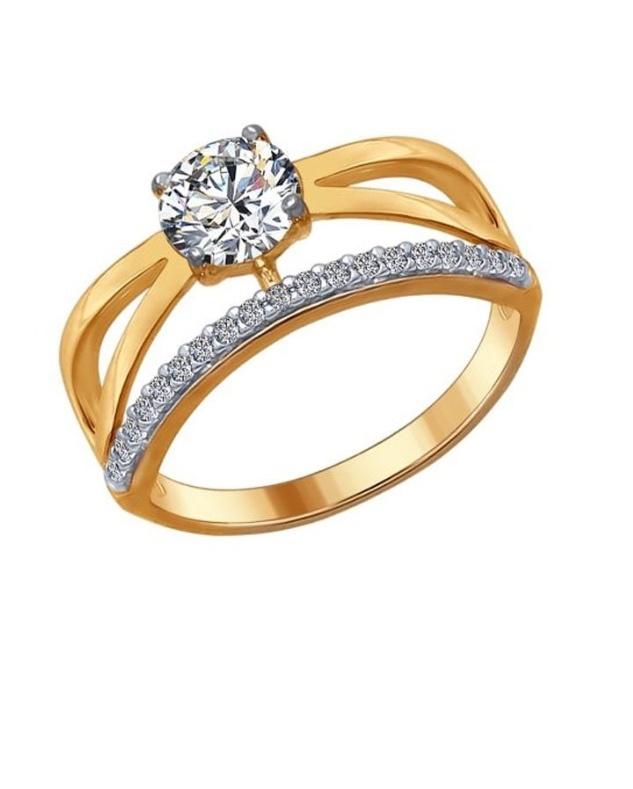 SOKOLOV кольцо серебро 925 и фианиты