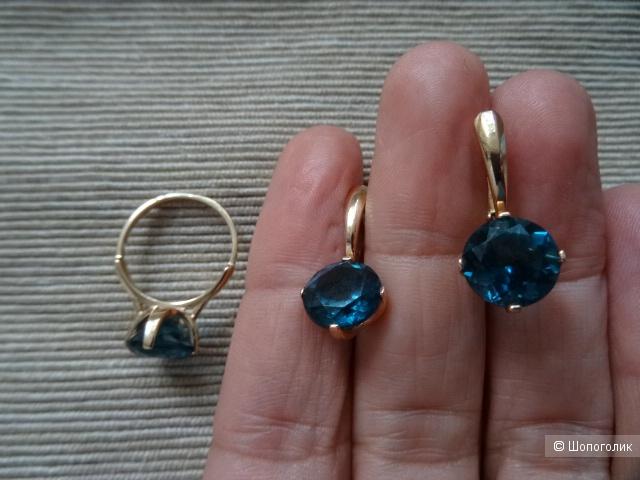 Кольцо, размер 17,0