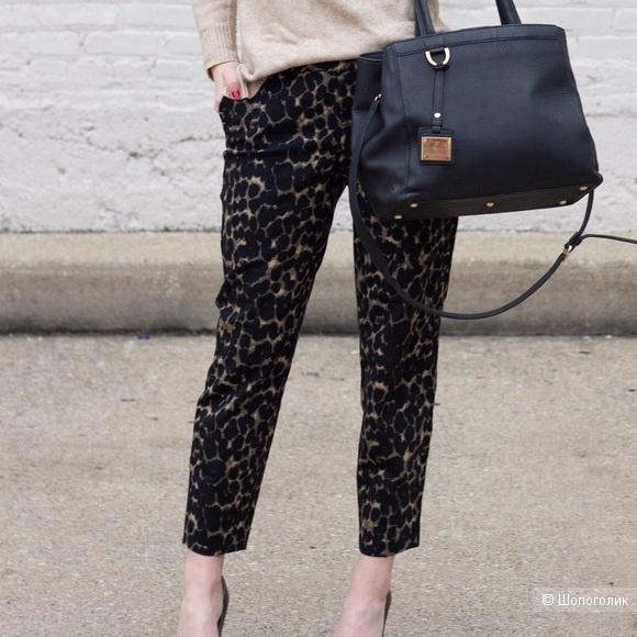 Леопардовые брюки Old Navy