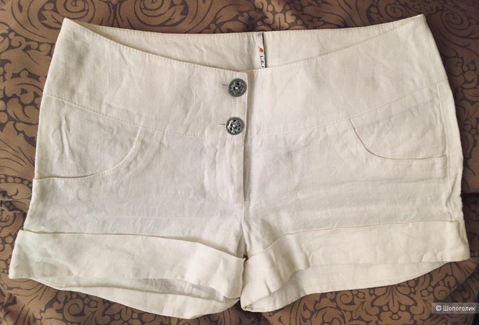 Льняные шорты Lenta, размер 46, М
