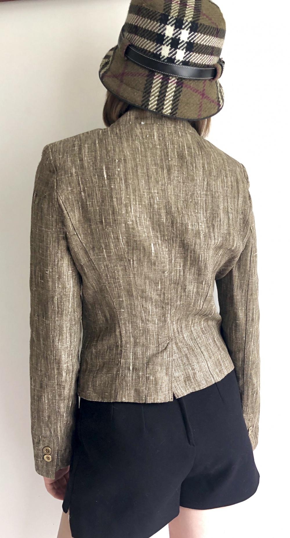 LIST льняной пиджак размер 40 IT