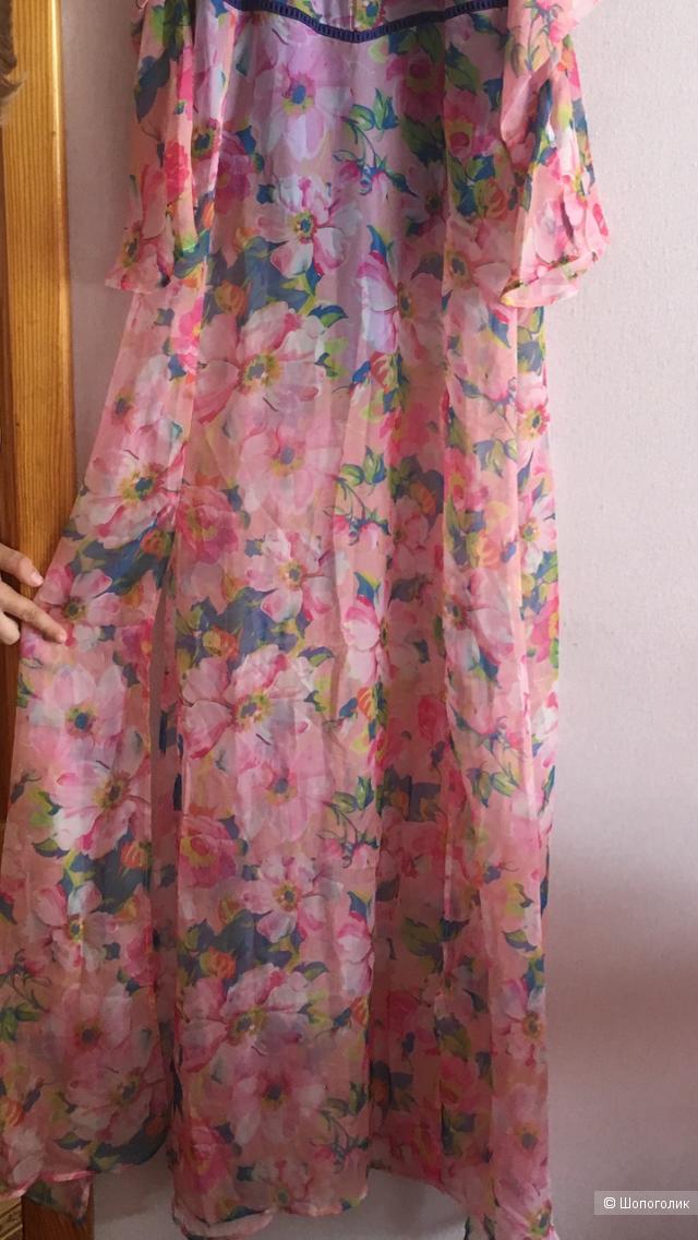 Платье - сарафан Boohoo, размер S, 42-44