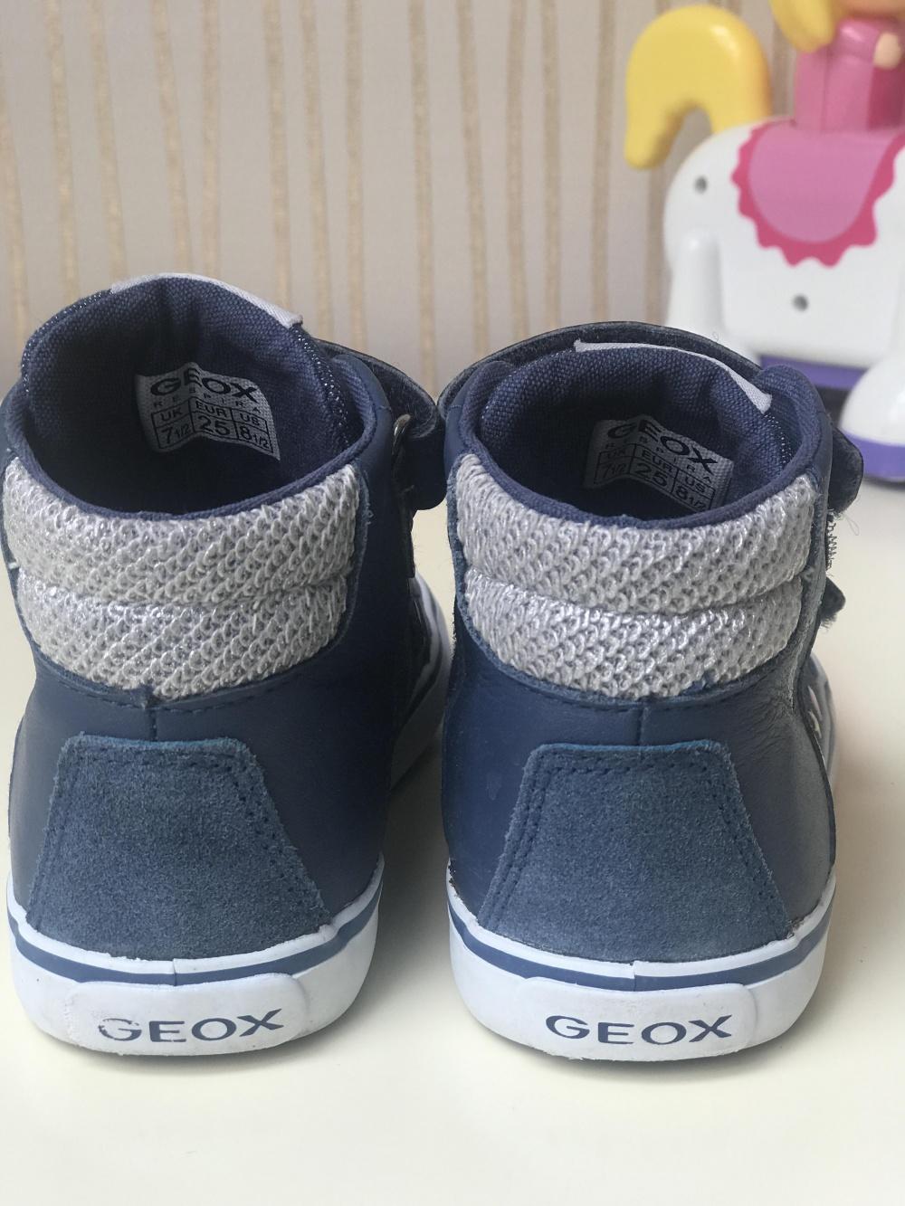 Кеды д/девочки Geox, 25 размер