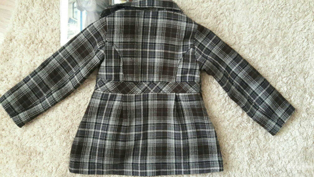 Пальто H&M, размер 5-6 лет