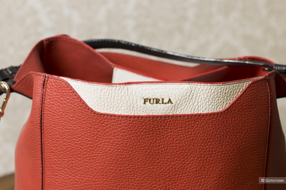 Сумка-хобо женская, Furla Fantasia, medium.