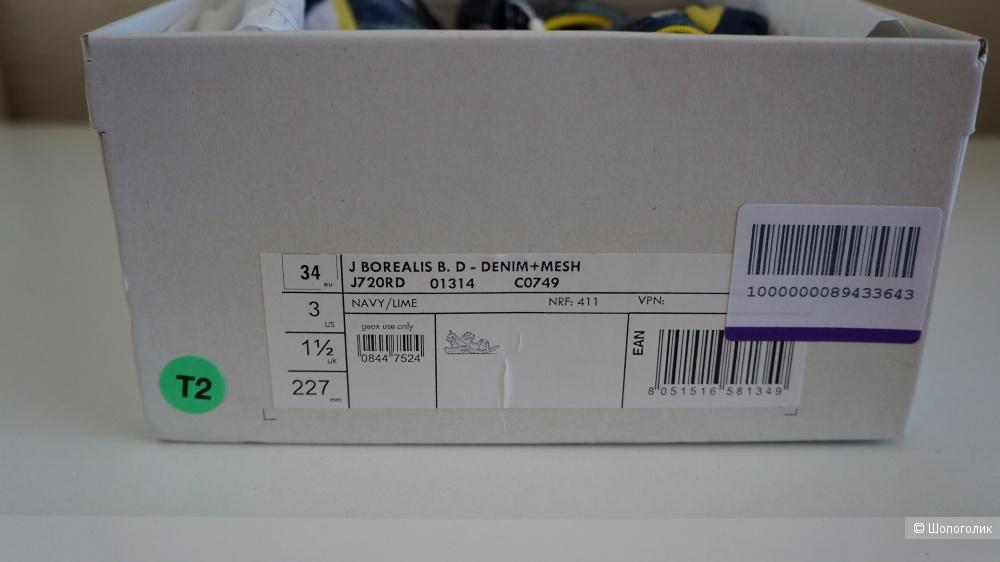 Сандалии Geox, 34 размер (EU)
