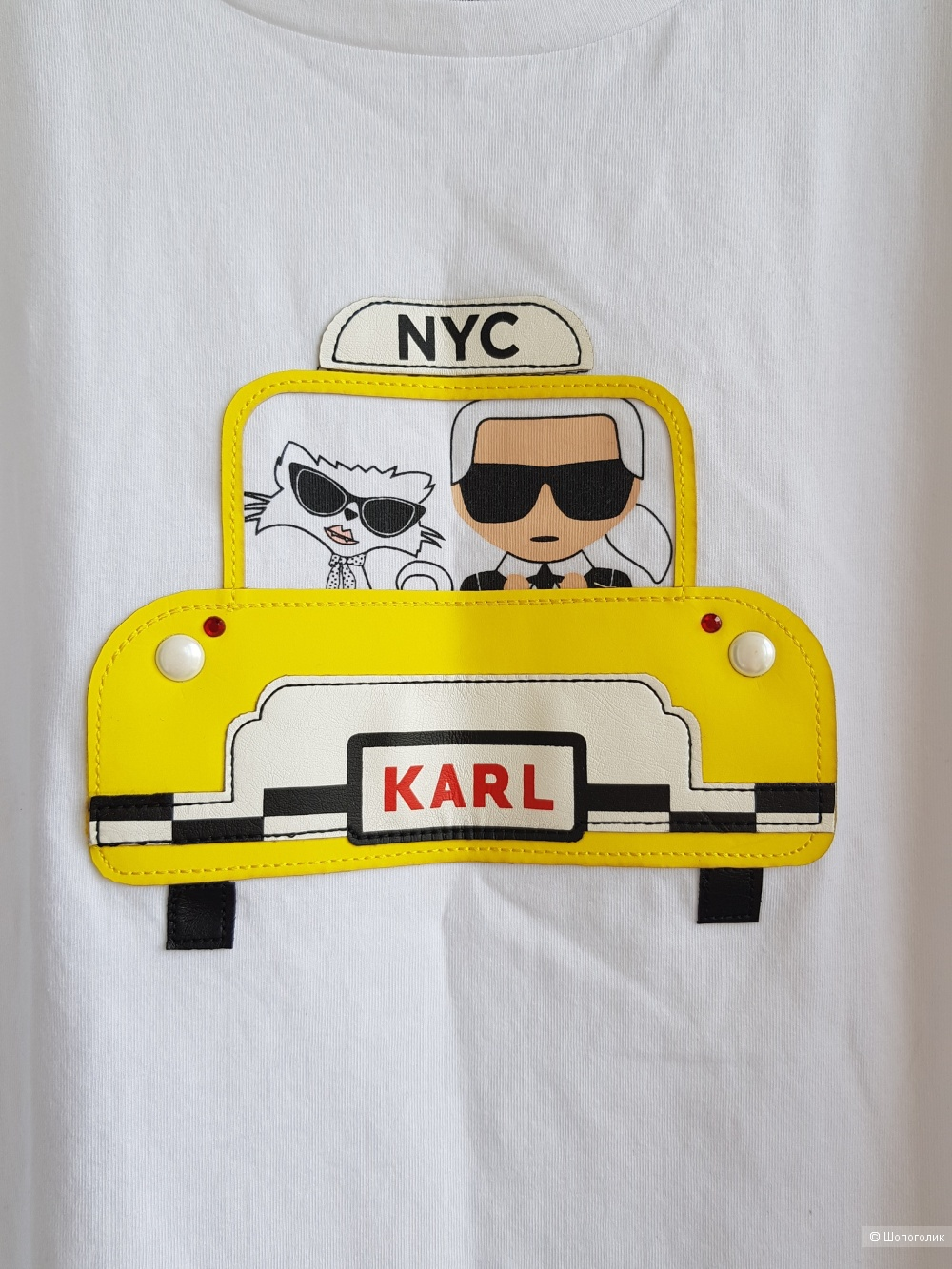 Футболка Karl Lagerfeld. S