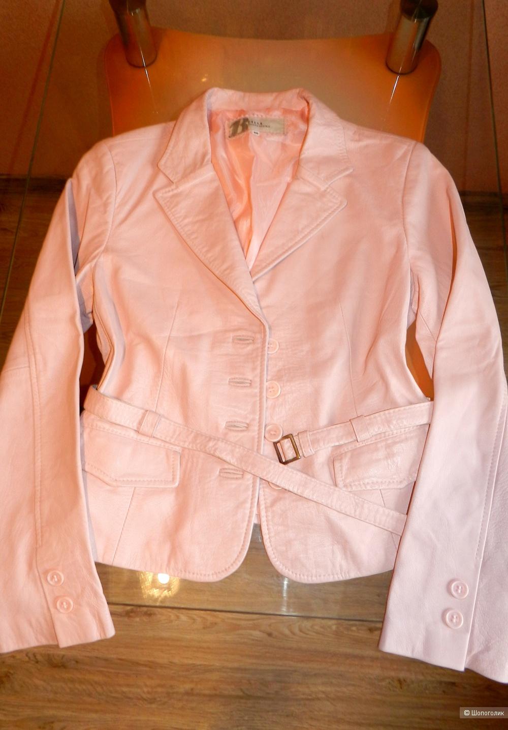 Кожаная куртка жакет VERA PELLE 44-46