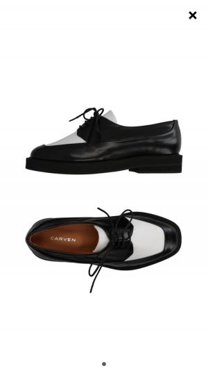 Броги (ботинки) Carven. Размер: 37 (24 см).