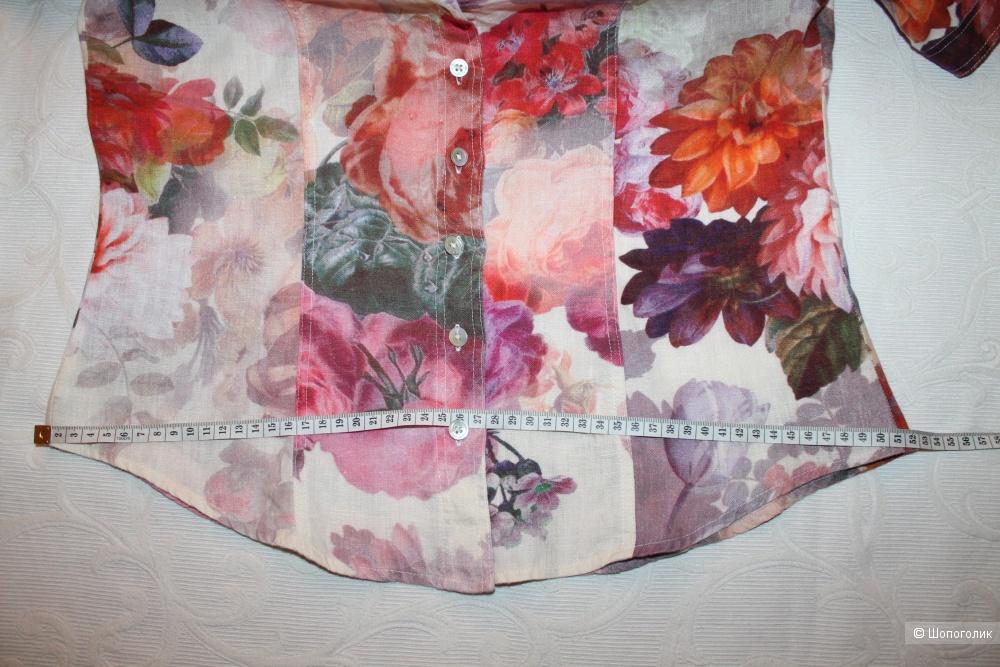 Льняная рубашка  NADINЕ H, размер 38, рос. 44-48