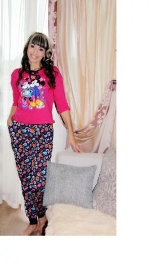 Комплект модель пижама 752