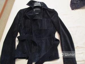 Куртка-пиджак замшевый Bally 42-44