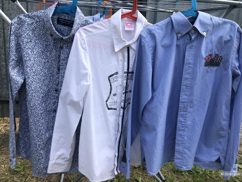 Комплект рубашек на мальчика ростом 146/152 см Nukutavake, Iceberg, Hackett