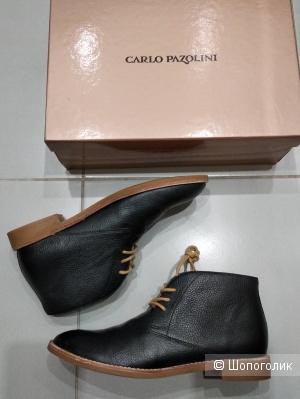 Ботинки кожаные «Carlo Pazolini», р.38-38,5