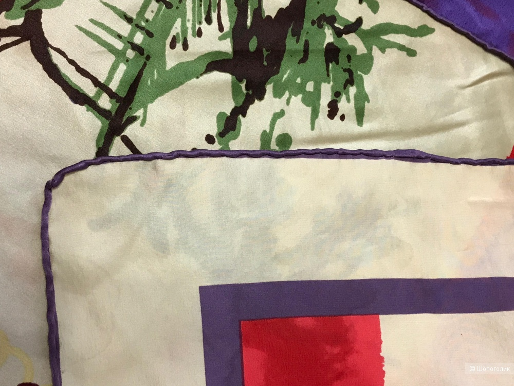 Сет из 3-х вещей от GLANCE (водолазка-лапша, шелковый платок, широкий ремень-резинка), размер 44-46 (S|M), рост 164-170
