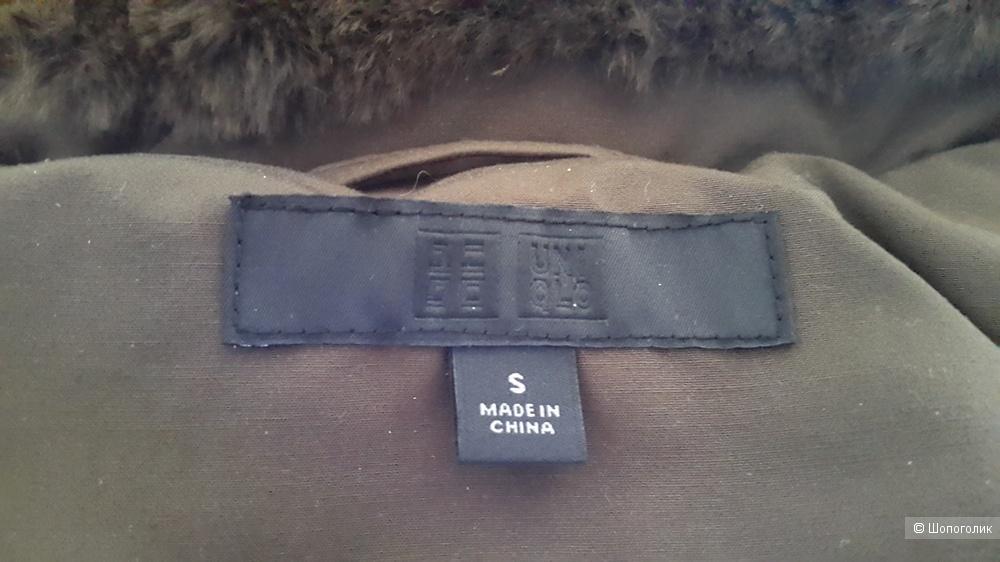Пальто- пуховик Uniqlo S-M 42-44разм.