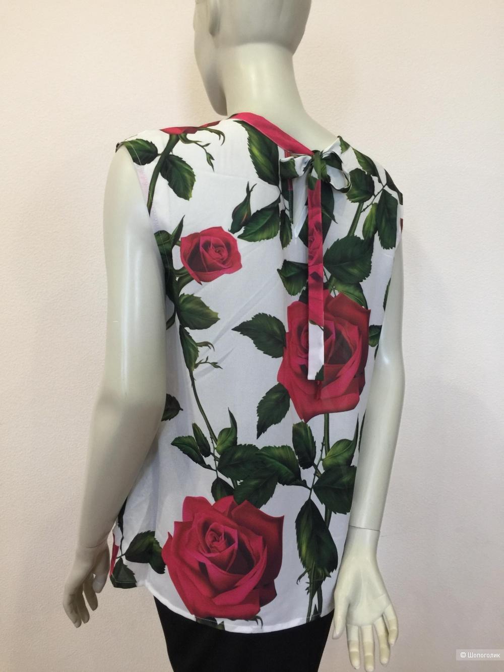 Блуза топ Serginnetti размер XL